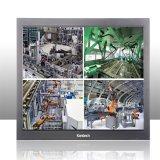 """Industrial de 24"""" LCD CCTV Monitor admite estable de trabajo reloj redondo"""