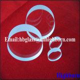 Clair de haute pureté d'épaisseur de la plaque de verre de quartz silice