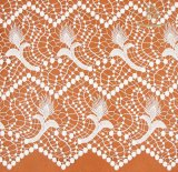 Cheerslife 125cm 100%のかぎ針編みのレースファブリック