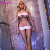 Neue 165cm realistische Brust-Silikon-Vagina-Geschlechts-Puppe für die Männer Skeleton