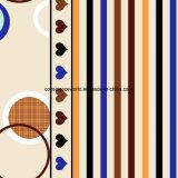 100%Polyester Inde Pigment&Disperse a estampé le tissu pour le jeu de literie