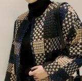Las Damas de alta calidad OEM Down Jacket abrigo corto el cuello redondo