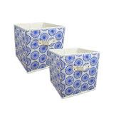 Caixa de armazenamento Foldable da tela colorida Home da mobília