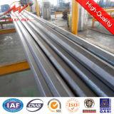 Zeile der Übertragungs-500kv Stahlröhrenpole