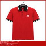 Fabbrica 100% della maglietta di polo di sport degli uomini di tono del poliestere due (P95)