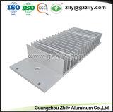Fábrica de China disipador térmico de aluminio personalizado para el alumbrado público LED