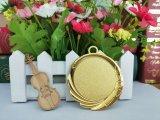 シャンペンのアーチェリーの競争亜鉛合金のブランクの挿入メダル賞は使用した