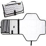 Almofada em mudança do Portable da estação do tecido Foldable impermeável da esteira dos bebês
