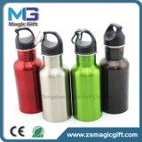 La parte superior de promoción de ventas de logotipo personalizado la botella de agua