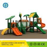 Детский пластиковый развлечений на открытом воздухе игровая площадка со стороны парка оборудования цена
