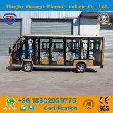 Zhongyi 14 assentos elétricos fora do barramento Sightseeing da estrada
