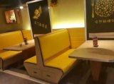 sofá del sofá de la cabina de los muebles del restaurante para el uso comercial