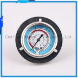 卸し売り2.5inches水清浄器のステンレス鋼圧力メートルの底接続
