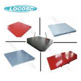Protección contra sobrecarga 10t de la pantalla LCD/LED de la escala de ganado