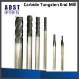 CNC van de Snijder van het Malen van het Carbide van het wolfram Scherpe Hulpmiddelen