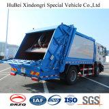 12cbm 압축 Roll-off 쓰레기 트럭