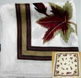Gedruckter Silk Krepp-Quadrat-Schal