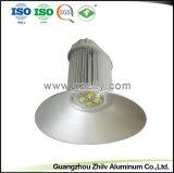 Ronda de alumínio Personalizado Industrial Dissipador de calor Perfil de Girassol com a norma ISO9001