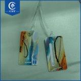個人化された安く堅いプラスチックPVCカスタム荷物の札