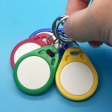 문 접근 MIFARE 고전적인 1K 지능적인 중요한 꼬리표 RFID Keyfob 꼬리표