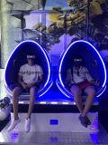 Cadeira atrativa do movimento do cinema de Vr do ovo da realidade virtual 9d do produto da tecnologia de projeto
