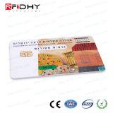 カスタム印刷高周波プログラム可能なRFIDの接触ICのカード