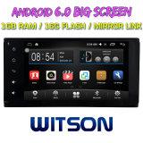 """Witson 7 """" Grote Androïde 6.0 Auto van het Scherm DVD voor Toyota Universeel met het Korte Ontwerp van het Lichaam DVD"""