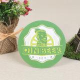 Forma redonda com papel absorvente Mat Montanha Russa de cerveja (YH-DC035)