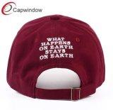 カスタム刺繍が付いている高品質の野球帽