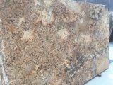 Китайская желтая золотистая плитка строительного материала гранита (король золотистый)