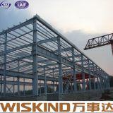 Casa pré-fabricada de construção clara feita pronta pré-fabricada da construção de aço do projeto