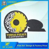 ヴェルクロが付いている安い工場価格のカスタム記念品PVCゴム製パッチ
