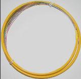 Singlemode Fanout van de Vlecht FC/Upc van de vezel Optische Vezel