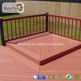 Planchers de bois composite polymère Mexytech Plank Co-Extrusion WPC Decking
