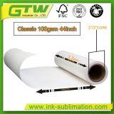 100g/m² Papel de transferencia por sublimación de tinta para impresión de alta velocidad