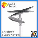 15W 2700lm garten-Straßenlaterneder Straßen-intelligentes LED Solar