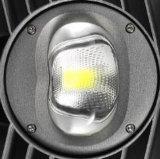 5年の保証の高い発電LEDの駐車場太陽LEDの街灯屋外100W