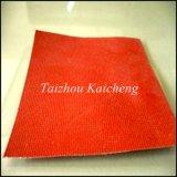 Tela revestida de la fibra de vidrio del silicón, paño del silicón