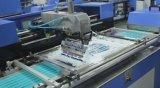Las cintas de tejido de color de una sola máquina de impresión automática de pantalla