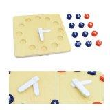 Montessori Kids Número de madeira educacionais de brinquedos de madeira de relógio de cor