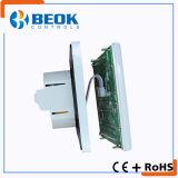 Termostato del condizionamento d'aria con il grande regolatore di temperatura ambiente dello schermo di tocco