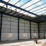 Entrepôt préfabriqué de structure métallique de grande envergure d'ingénierie