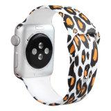 Band van het Horloge van het Silicone van de Sport van de Druk van de douane de Nieuwe voor de Band van het Horloge van de Appel