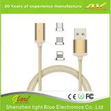 Высокоскоростной Nylon кабель USB 2.1A для клиента Амазонкы