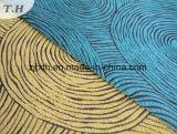 Tissu de décoration de Chenille de modèle de Gemotrical