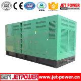 générateur diesel silencieux d'engine de 300kw Doosan Pi58le-I