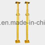 Surtidor de China que construye longitud ajustable poste del apuntalamiento del acero de 2.2 a de los 3.7m