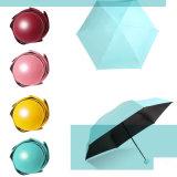 2018 مصغّرة كبسولة نمو جيب يطوي مشمسة ممطرة نساء أنثى [أوف] مظلة مظلة شمعية وصول جديدة نوعية مبتكرة