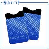 Suporte de cartão esperto do crédito do telefone de pilha do silicone da carteira