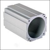 Tubo de aluminio del cilindro del CNC que trabaja a máquina con la anodización